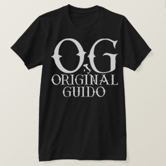 T-SHIRT ORIGINAL GUIDO DE GIOVANNI PAOLO OG