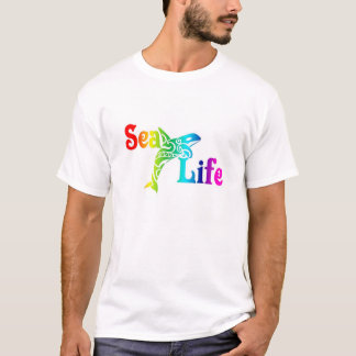 T-shirt Orque de vie marine