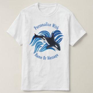 T-shirt Orque PERSONNALISÉE d'océan