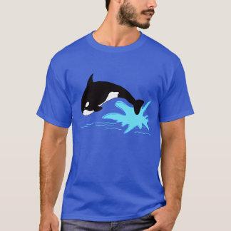 T-shirt Orque sautante