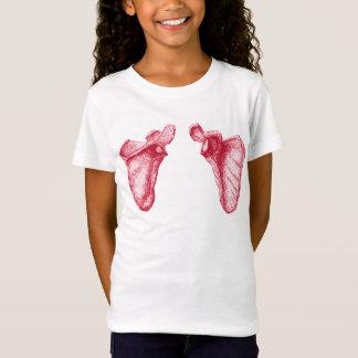 T-Shirt Os de l'épaule humaine