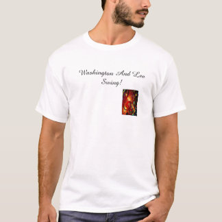T-shirt Oscillation de Washington et de Lee !