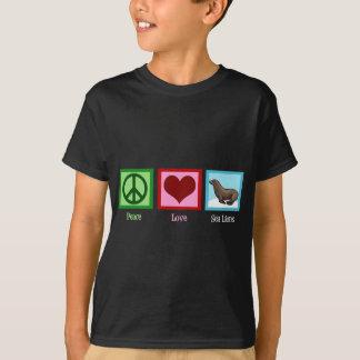 T-shirt Otaries d'amour de paix