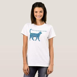 T-shirt Où tu pouvez faire affection