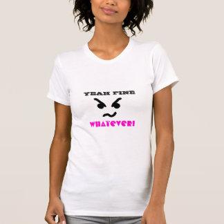 T-shirt OUAIS TRÈS BIEN QUELQUE chemise