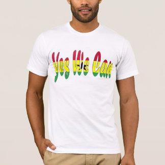 T-shirt Oui nous pouvons (le drapeau du Ghana)