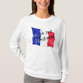 T-shirt Oui, parisienne de suis de je
