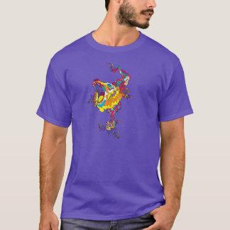 T-shirt Ours acide psychédélique
