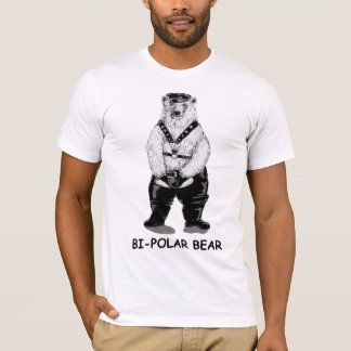 T-shirt Ours bipolaire