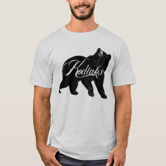 T-shirt Ours de logo de Kodiaks