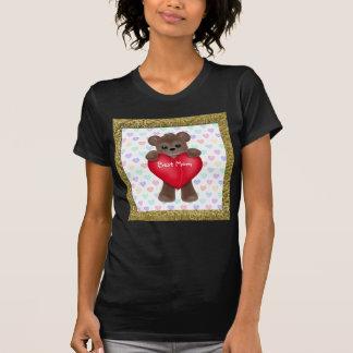T-shirt Ours heureux du jour de mère