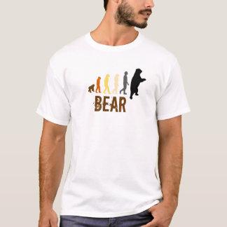 T-shirt Ours/montée de couleurs d'ours de l'homme