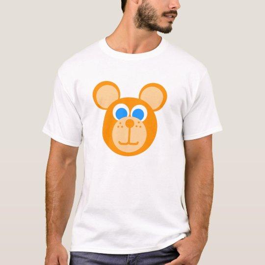 T-shirt ours orange