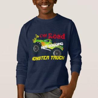 T-shirt Outre du camion de monstre de cool de route