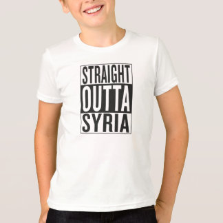 T-shirt outta droit Syrie