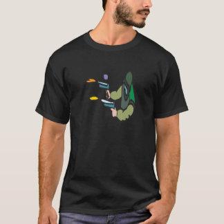 T-shirt Paintballs de tir
