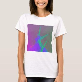 T-shirt Paires d'escargots dans des couleurs psychadelic
