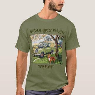 """T-shirt paisible de """"FERME"""" de jours"""