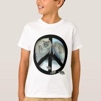 T-shirt paix de lamantin