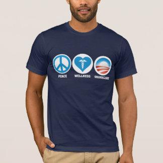 T-shirt Paix, santé, Obamacare