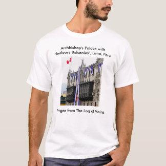 """T-shirt Palace d'archevêque avec balcons"""" Lima des """"de"""