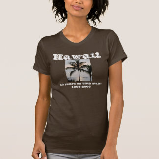 T-shirt Palmier hawaïen