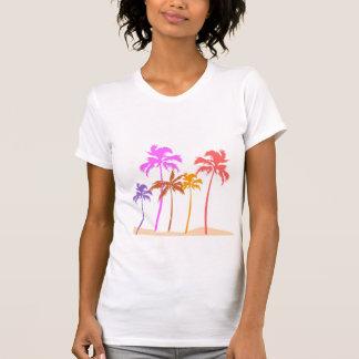 T-shirt palmiers