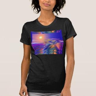 T-shirt Palmiers peints