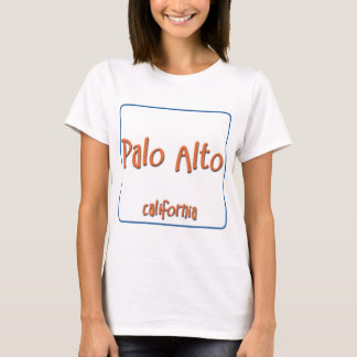 T-shirt Palo Alto la Californie BlueBox