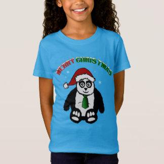 T-Shirt Panda de Joyeux Noël