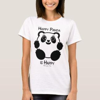 T-shirt Panda heureux
