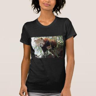 T-shirt Panda rouge