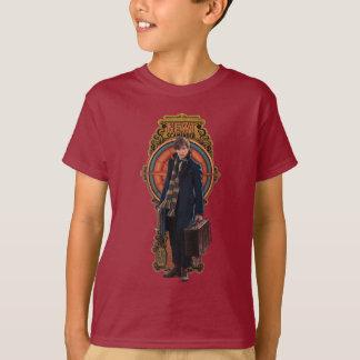 T-shirt Panneau debout de Nouveau d'art du TRITON