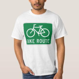 T-shirt Panneau routier de recyclage de voie pour