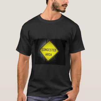 T-shirt Panneau routier encombré de secteur