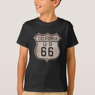 T-shirt Panneau routier historique de route