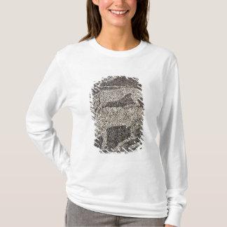 T-shirt Panthère attaquant un taureau