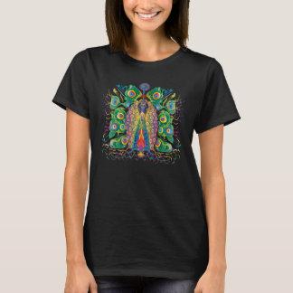 T-shirt Paon coloré
