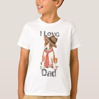T-shirt Papa de Basenji