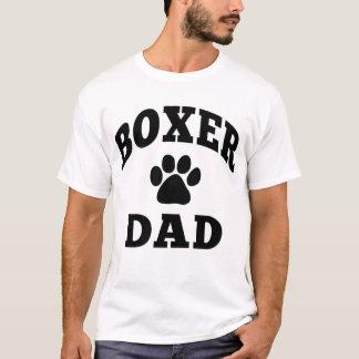 T-shirt Papa de boxeur