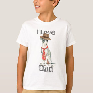 T-shirt Papa de lévrier italien