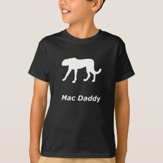 T-shirt Papa de Mac de guépard