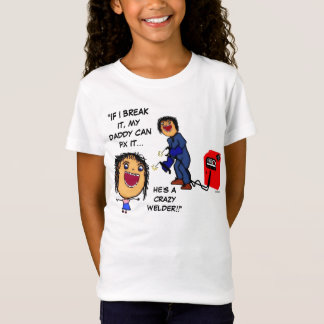 T-Shirt Papa de soudeuse