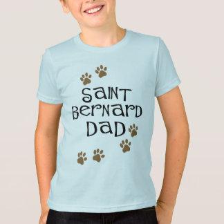 T-shirt Papa de St Bernard