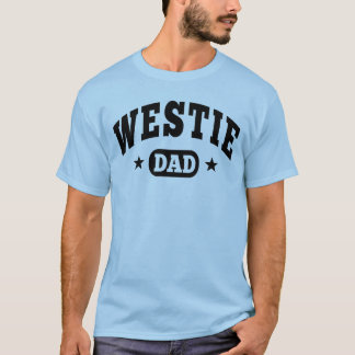 T-shirt Papa de Westie