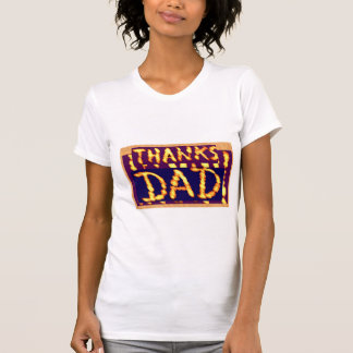 T-shirt PAPA MERCI - cadeaux idéaux de Fathersday des