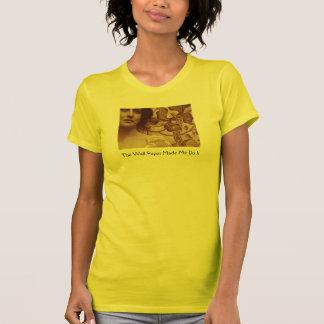 T-shirt Papier peint jaune