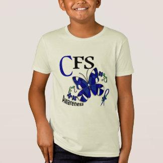 T-Shirt Papillon 2 CFS en verre souillé