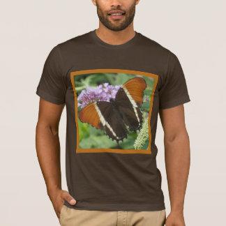 T-shirt Papillon de corail de Brown