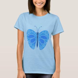 T-shirt Papillon du ciel 60s de myrtille